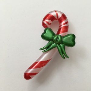 Yankee Candle Christmas candy cane candle charm